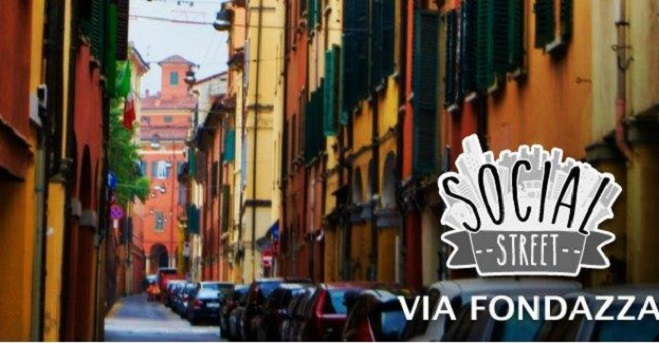 Social Street Bologna via Fondazza