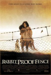 Locandina La generazione rubata (Rabbit-Proof Fence), film Sorry Day Australia, bambini aborigeni rapiti