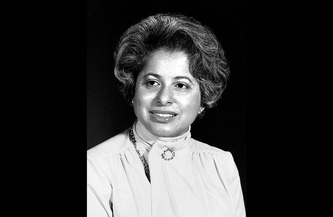Patricia Roberts Harris, prima donna di colore segretario di Gabinetto negli USA