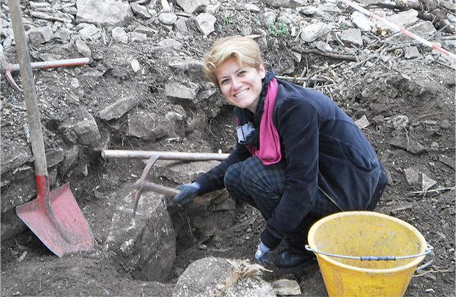 Antonella Stellino archeologa Monte Bonifato