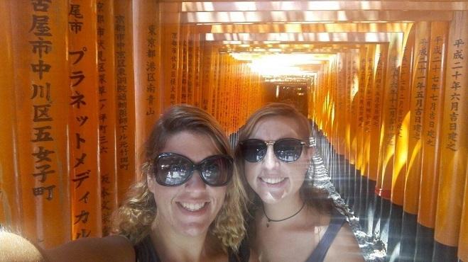 Sorelle Cavalletti un anno in giro per il mondo - Giappone, Kyoto, Fushimi Inari Shrine