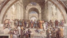 Scuola di Atene, affresco di Raffaello Sanzio, 1511 - violenza nelle scuole