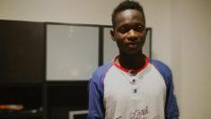 Bah migrante Guinea Busto Arsizio