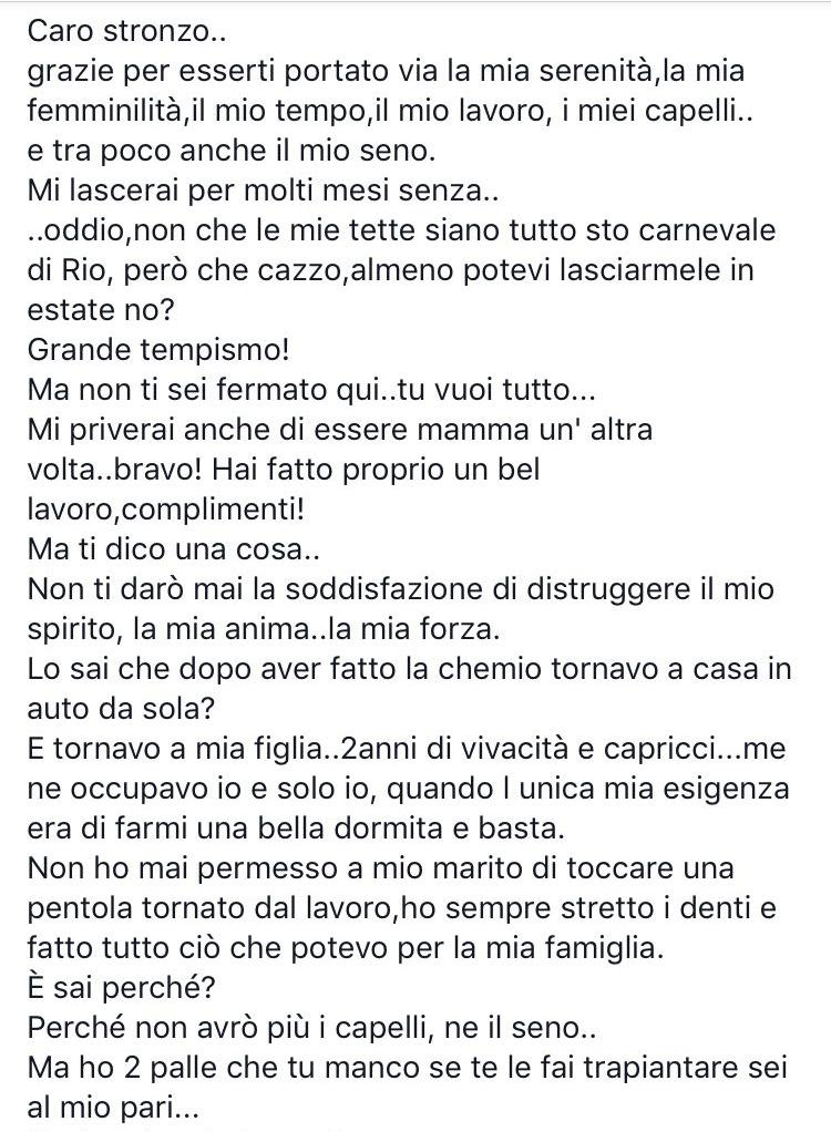 Vanessa Cancro al seno (1)