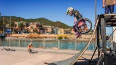 Ilaria Naef - salto della morte in carrozzina - Sergio Bolla Photographer