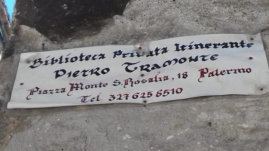 Biblioteca Privata Itinerante Pietro Tramonte Palermo
