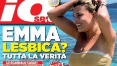 Emma Marrone Lesbica copertina Io Spio