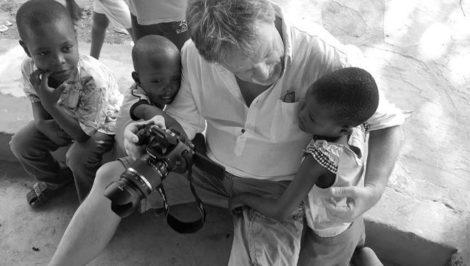 Sebastiano Fezza cinereporter Rai bambini africani