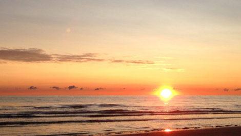 tramonto mare riflessioni dopo le vacanze estive