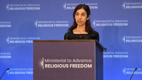 Nadia Murad Premio Nobel per la Pace 2018