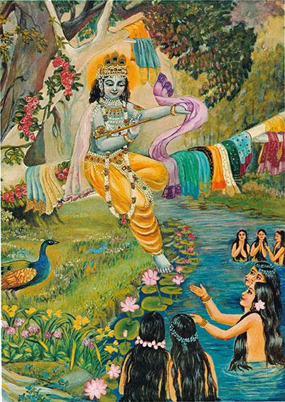 Krishna_&_gopis_on_river Auroville