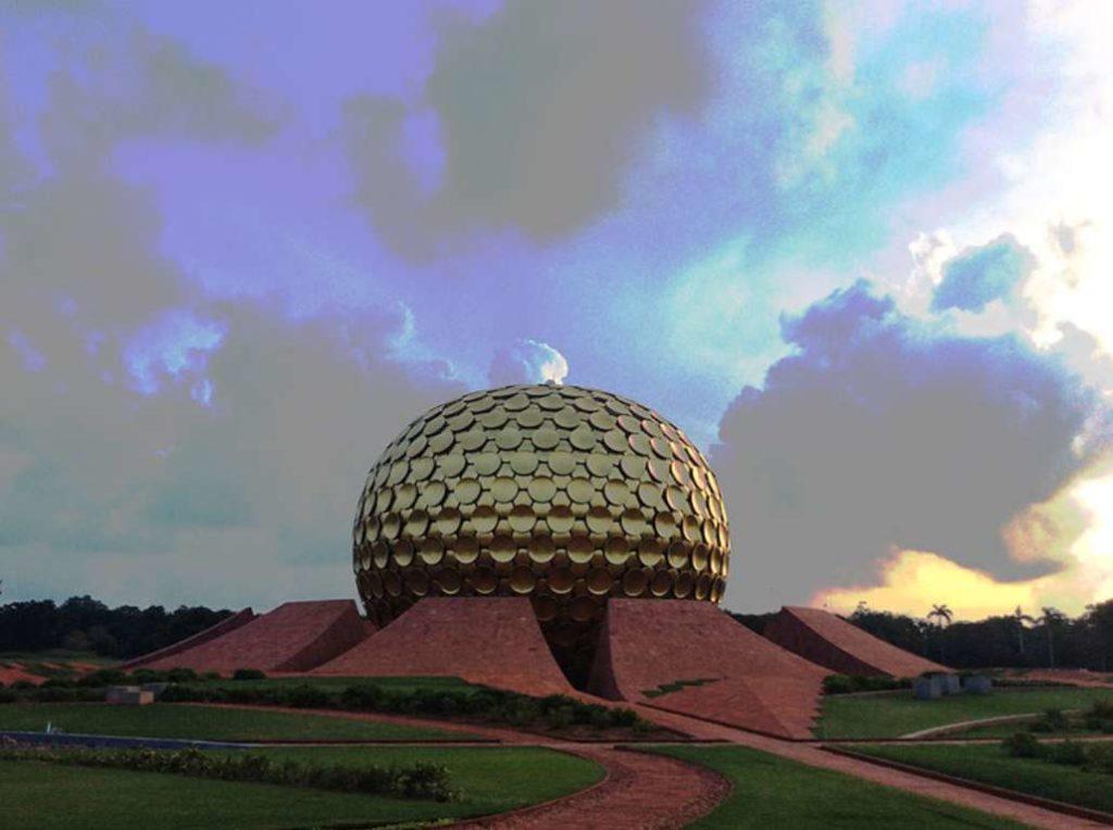 Matrimandir Auroville Luigi Manohar