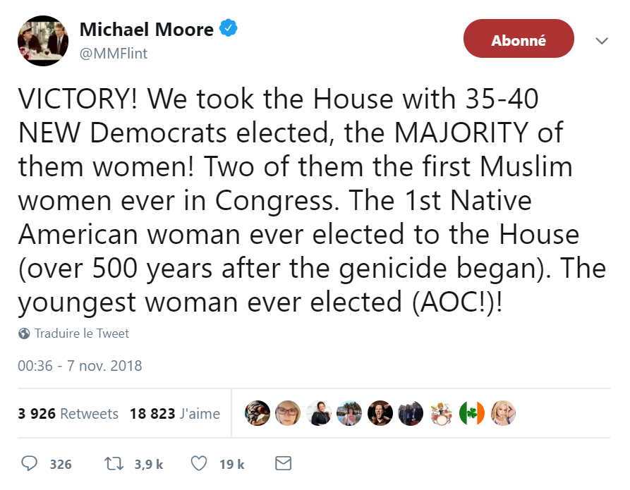 Michael Moore midterm elections tweeter