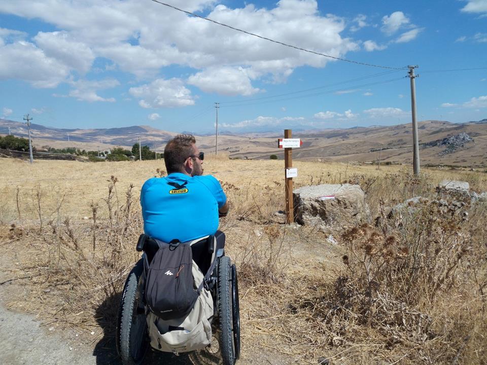 pietro scidurlo cammino di santiago free wheels onlus 1