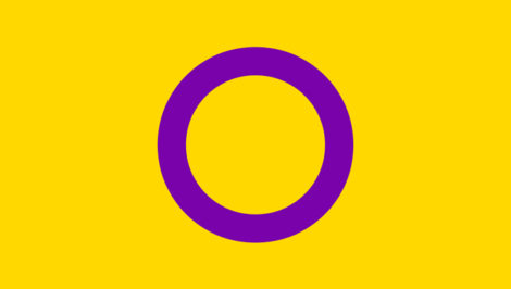 Bandiera Intersex intersessuali