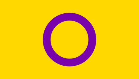 Bandiera Intersex intersessuali