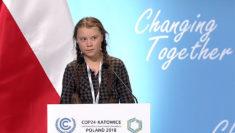 Greta Thunberg COP24 conferenza delle Nazioni Unite sul cambiamento climatico Polonia