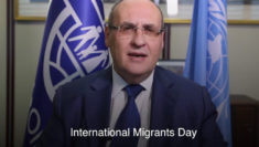 Migration With Dignity António Vitorino, Direttore Generale Organizzazione Internazionale per le Migrazioni