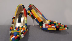 MoRa, Museum of Recycled Art Roma Scarpe con Lego