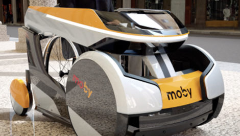 """È arrivato """"Moby"""", il primo sharing per disabili in sedia a rotelle"""