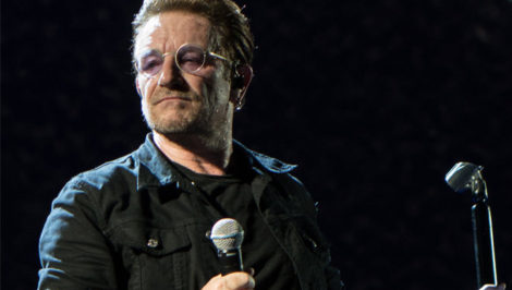 Bono al World Economic Forum U2 Forum Davos Capitalismo