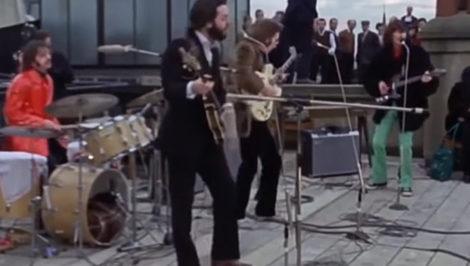 Get Back Beatles Rooftop Concert 30 gennaio 1969