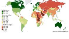 indice Democratico in Italia Democracy Index 2018 Me Too Economist Intelligence Unit