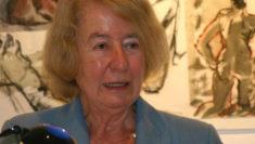 premiata Hilde Schramm, la figlia dell'architetto di Hitler Albert Speer