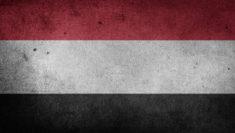 bandiera Yemen guerra bambini