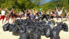 Trash Challenge #trashtag