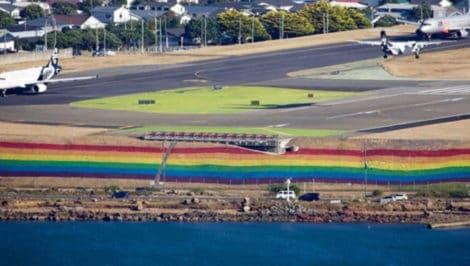 aeroporto Wellington Pride Nuova Zelanda LGBT pride