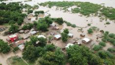 immagine aerea di una zona del Malawi colpita dal ciclone tropicale Idai ©UNICEF Malawi