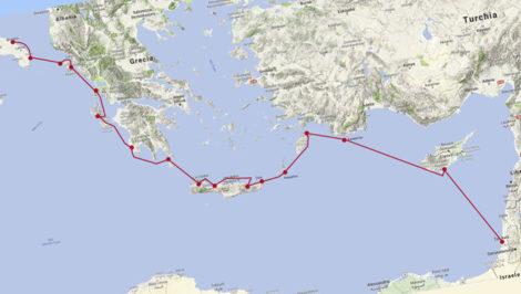 Vele Aperte veleggiata dalla Puglia a Israele, da Brindisi a Gerusalemme, Alfonso Casale