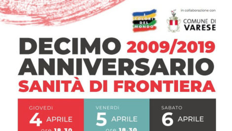 decimo anniversario Sanità di Frontiera Varese
