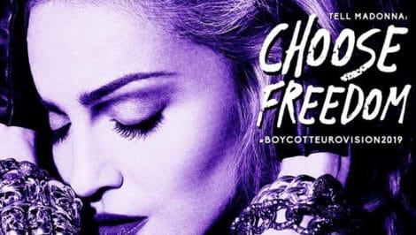 Madonna Eurovision 2019 boycott choose freedom