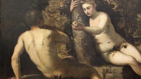 Jacopo_tintoretto,_tentazioni_di_adamo_ed_eva Maschio e femmina Dio li creò le nuove prerogative della Congregazione per l'educazione cattolica