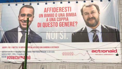 ActionAid Salvini Di Maio Adozione a distanza