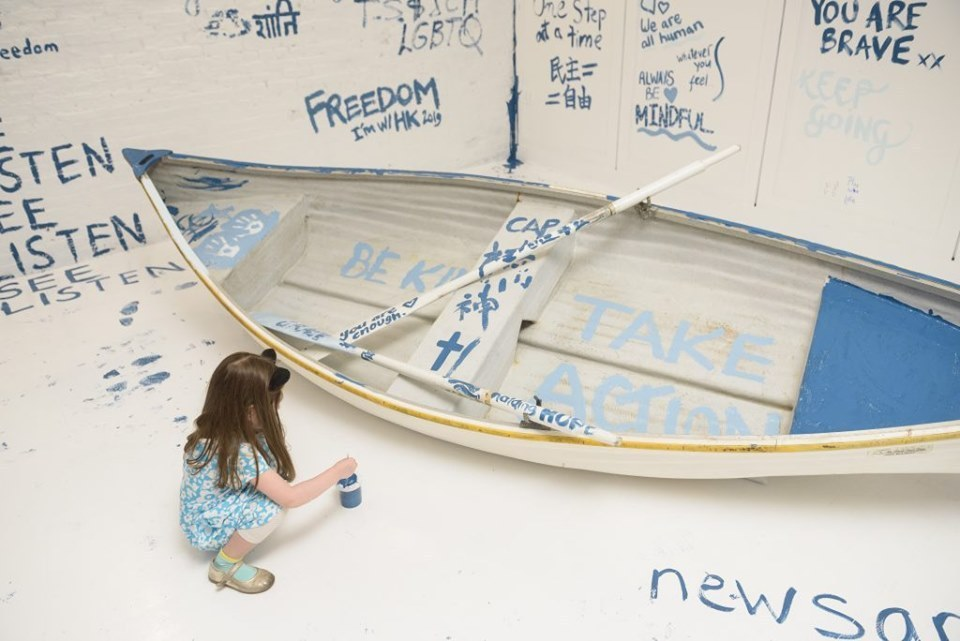 Add Color, Refugee Boat Yoko Ono