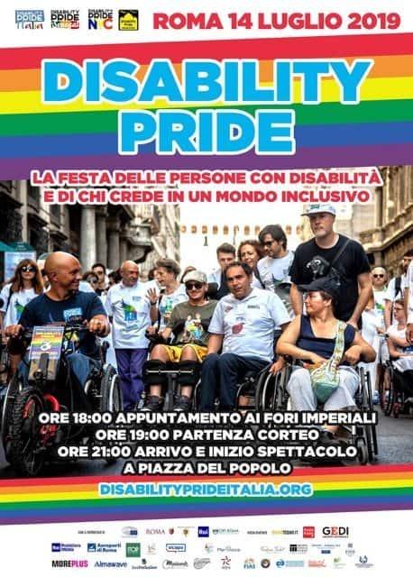 Disability Pride Italia locandina 2019