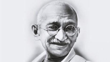 Mahatma Gandhi poesia prendi un sorriso