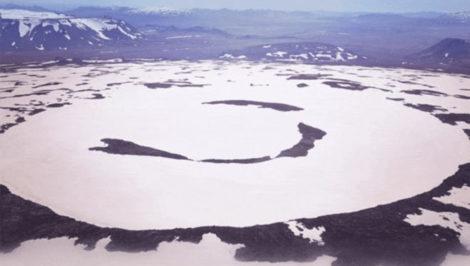 Okjokull ghiacciaio morto Islanda, foto Dominic Boyer e Cymene Howe