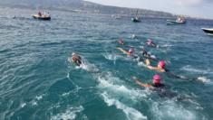 """Traversata Solidale dello Stretto di Messina """"Tancrede Swim Challenge... la sfida di un giorno la sfida per la vita"""". contro il Parkinson (2)"""