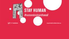 raccolta firme no more bricks in the wall per il 3 ottobre Giornata Europea della Memoria e dell'Accoglienza