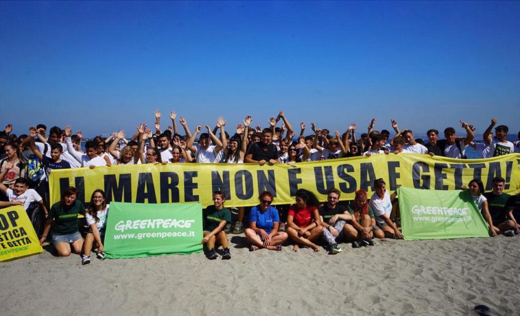 Dolcenera Greenpeace amaremare plastic radar