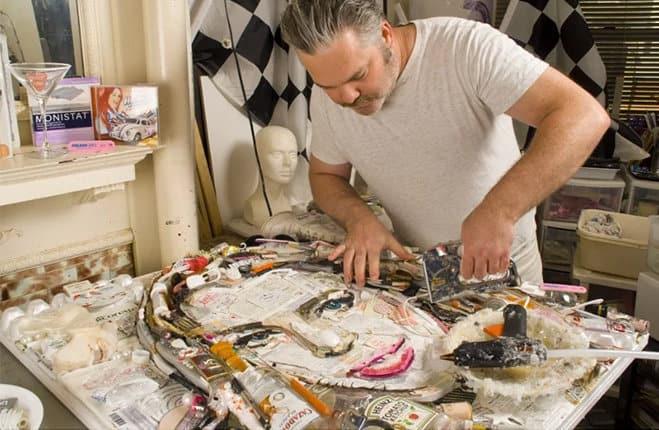Jason Mercier pop trash arte spazzatura