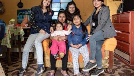 intervista Perù Lima Cesvi (5) con psicologa Lilian Meza Camac