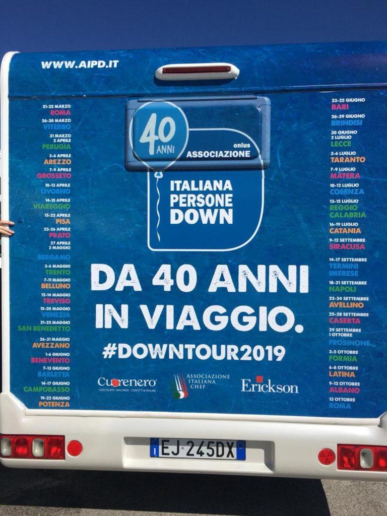 Giornata nazionale persone con sindrome di Down: AIPD festeggia i 5mila chilometri del DownTour