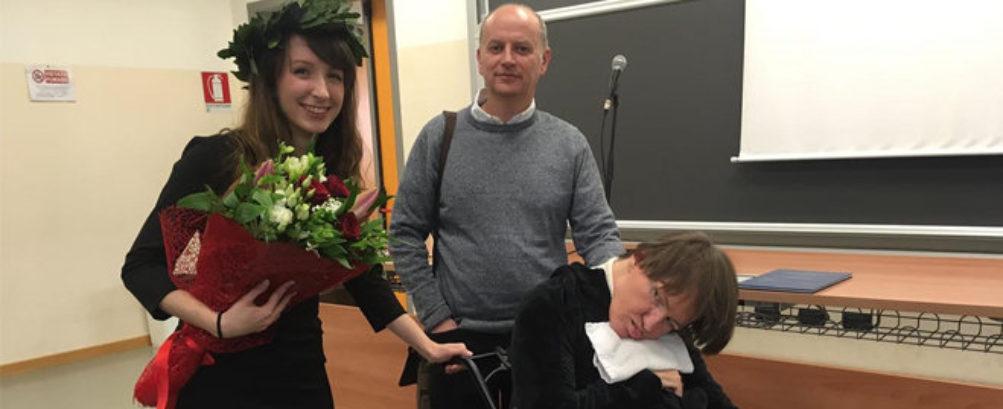 Erika Borellini studentessa università Modena Caregiver