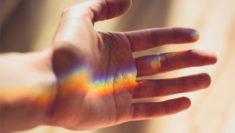 Gender Variant Trans psicoterapeuta Chiara Caravà Rainbow hand