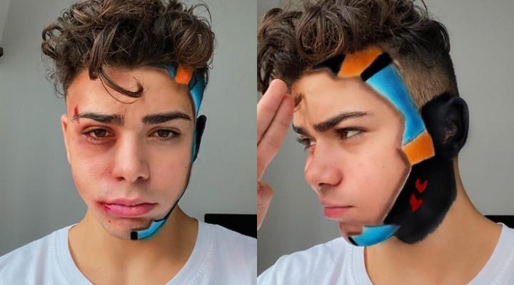 Luciano Spinelli in versione avatar per Hatesick